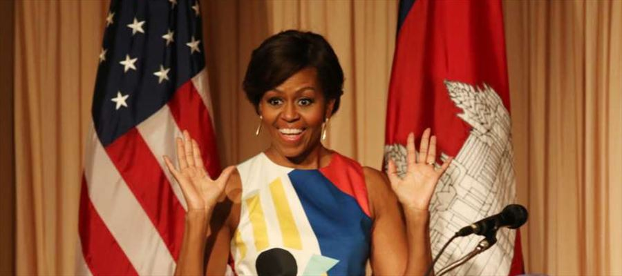 """A new memoir titled """"Becoming"""" by Michelle Obama out"""